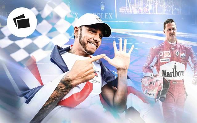 Formel 1: Fabelzahlen von Lewis Hamilton