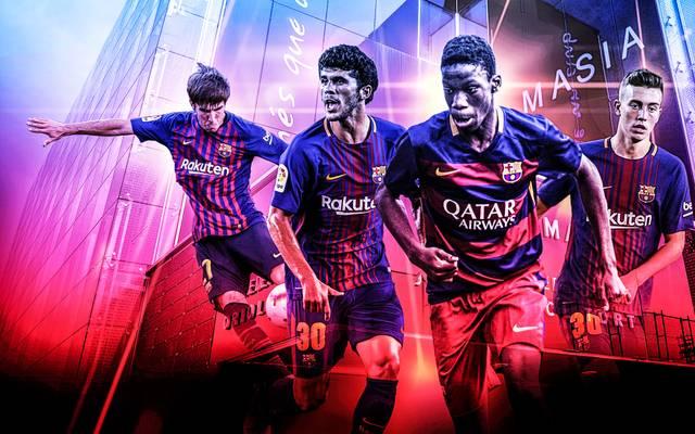 Aus der Talentschmiede des FC Barcelona stehen einige Youngster vor dem Sprung zu den Profis