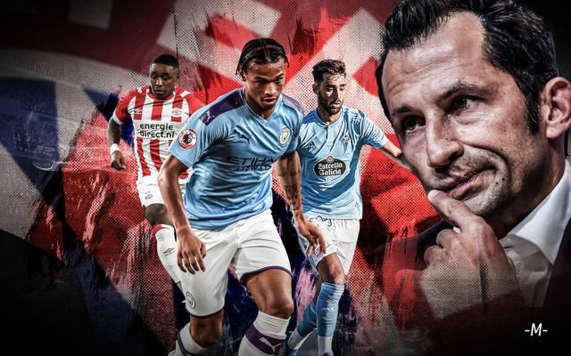 Hasan Salihamidzic (r.) ist auf der Suche nach Neuzugängen für den FC Bayern