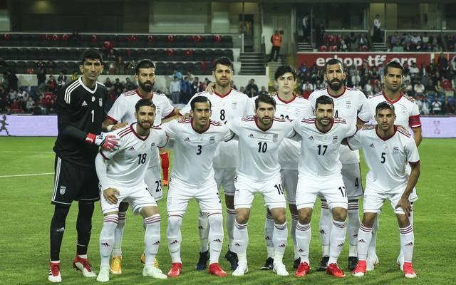 Mannschaftsfoto von Iran