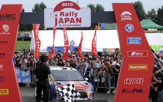 2010 stand sie Rallye Japan letztmals im WM-Kalender