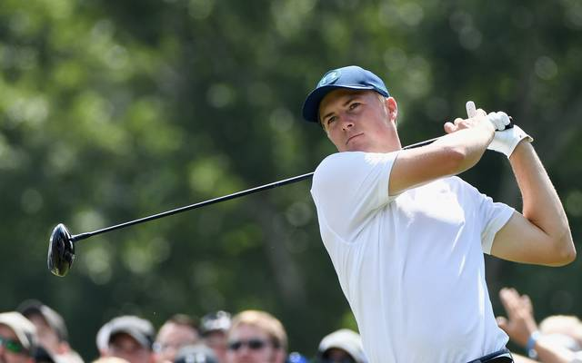 Jordan Spieth beim US PGA Championship in Charlotte