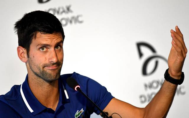 Novak Djokovic hat seit Wimbleon 2017 kein offizielles Match mehr bestritten