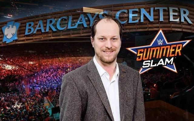 SPORT1-Redakteur Martin Hoffmann war beim WWE SummerSlam 2018 vor Ort