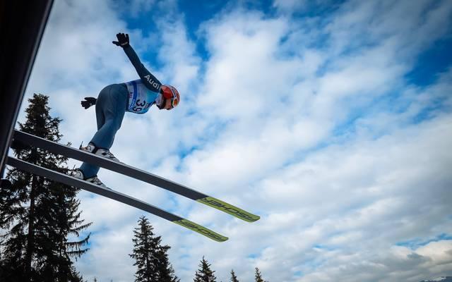 Katharina Althaus zählt zu den heißesten Medaillenkandidatinnen im Skispringen