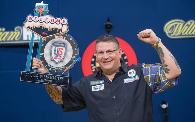 Gary Anderson gewann das US Darts Masters in Las Vegas