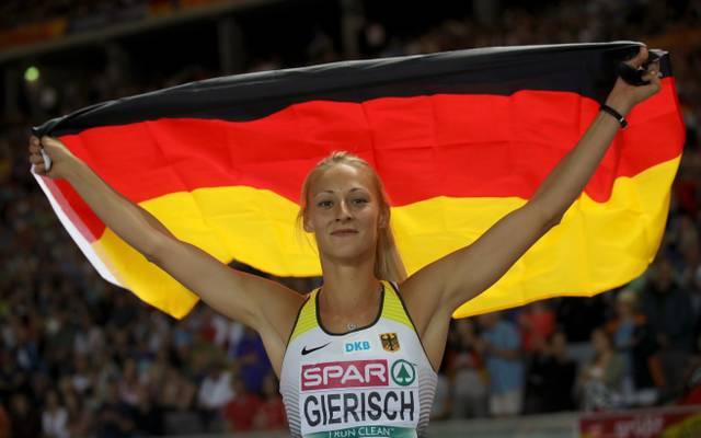 Kristin Gierisch musste sich nur der Topfavoritin geschlagen geben