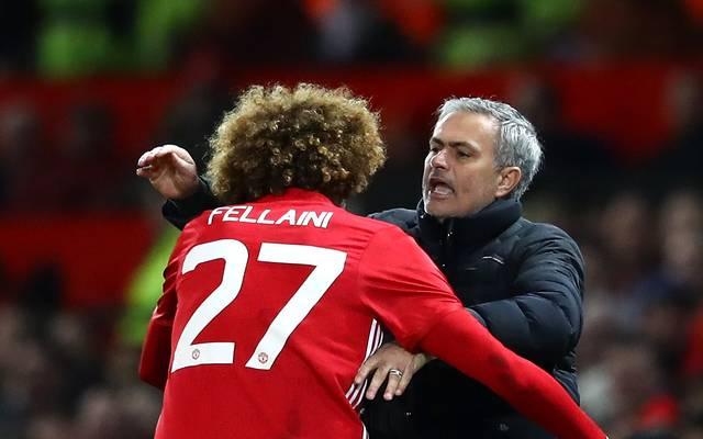 Marouane Fellaini unterschrieb bei Manchester United einen neuen Vertrag bis 2020