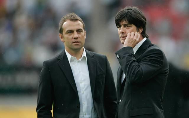 Hansi Flick war von 2006 bis 2014 Co-Trainer von Joachim Löw bei der Nationalmannschaft