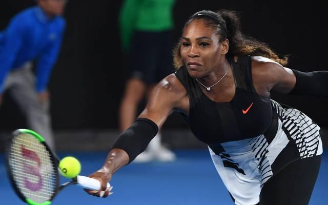 Serena Williams bestritt ihr erstes Spiel nach elf Monaten
