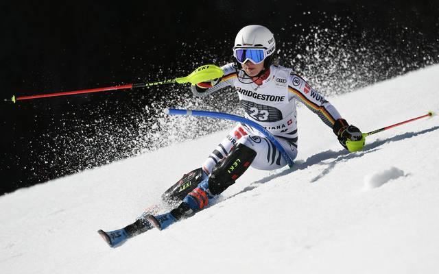 Patrizia Dorsch erreichte in Crans-Montana mit Platz fünf ihr bestes Resultat