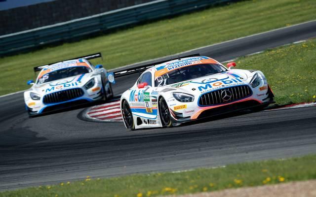 Bei der Tschechien-Premiere in Most dominierte im Training Mercedes