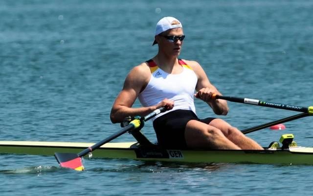 Ruder-WM in Plowdiw: Die Halbfinals , Oliver Zeidler steht bei der Ruder-WM im Finale