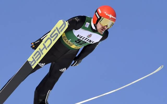 Fabian Rießle sprang in Klingenthal weiter als die Konkurrenz