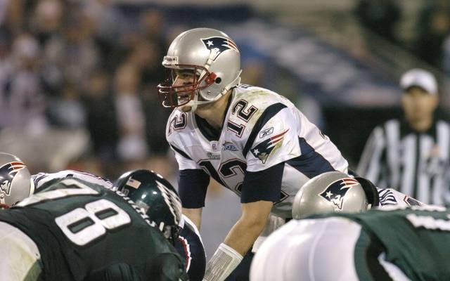 Tom Brady führte beim Super Bowl XXXIX die Patriots zum Sieg gegen die Philadelphia Eagles