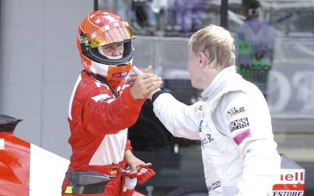 Michael Schumacher und Mika Häkkinen verband eine freundschaftliche Rivalität
