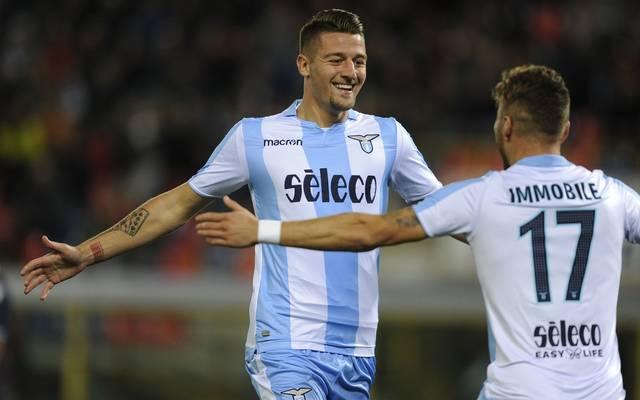 Sergej Milinkovic-Savic wechselte im Sommer 2015 für 18 Millionen Euro vom KRC Genk zu Lazio