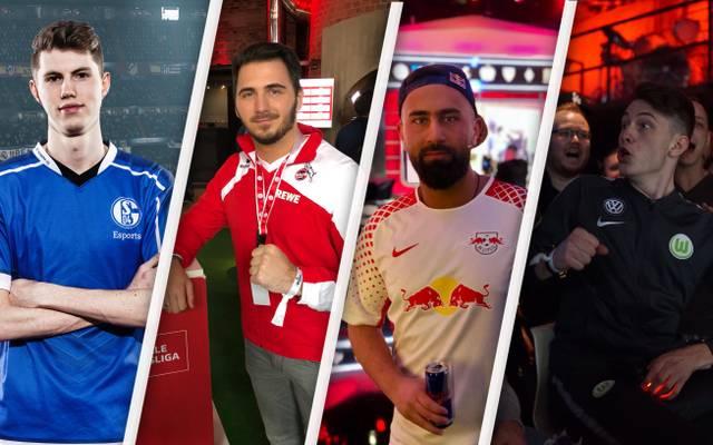 Diese vier Spieler spielen um die deutsche FIFA-Meisterschaft: TimLatka, Mirza, Cihan und TimoX