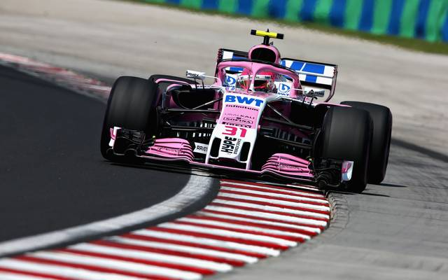 Force India darf unter dem Namen Racing Point Force India in Spa an den Start gehen