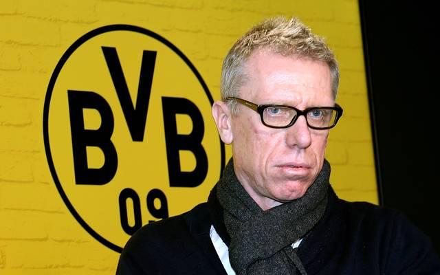 Peter Stöger äußert sich vor dem Spiel gegen den Hamburger SV über Thomas Tuchel