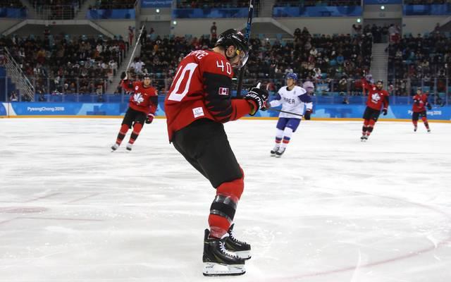 Maxim Lapierre gewann 2018 mit Kanada Olympia-Bronze