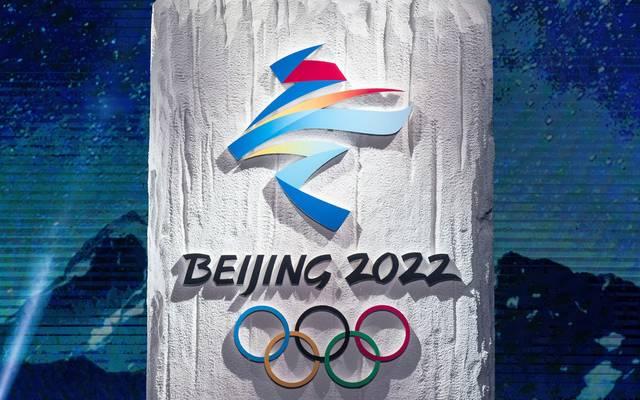 Das Logo der Olympischen Winterspiele 2022 ist von chinesischer Kalligrafie inspiriert