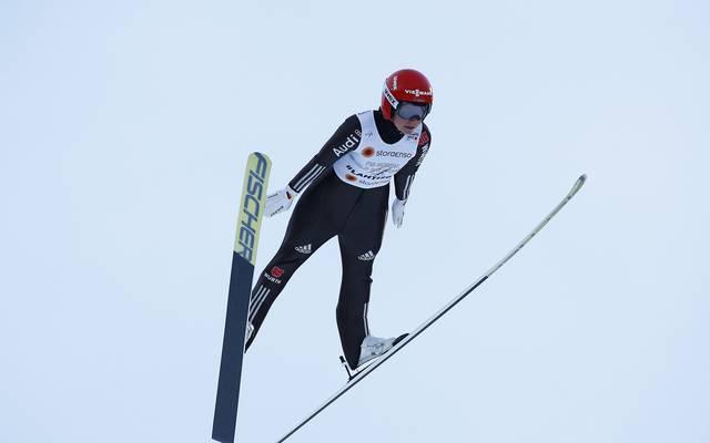 Katharina Althaus sprang knapp an ihrem zweiten Weltcupsieg vorbei
