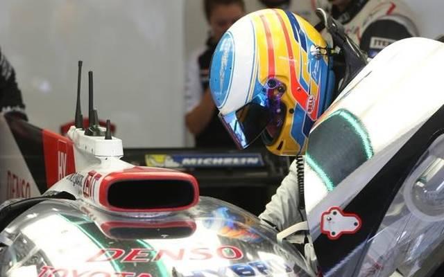 Das Abenteuer Le Mans hat für Fernando Alonso begonnen