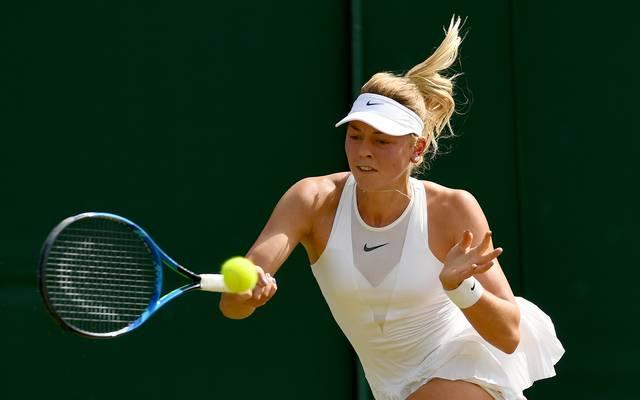 Carina Witthöft ist die Nummer 57 der Weltrangliste