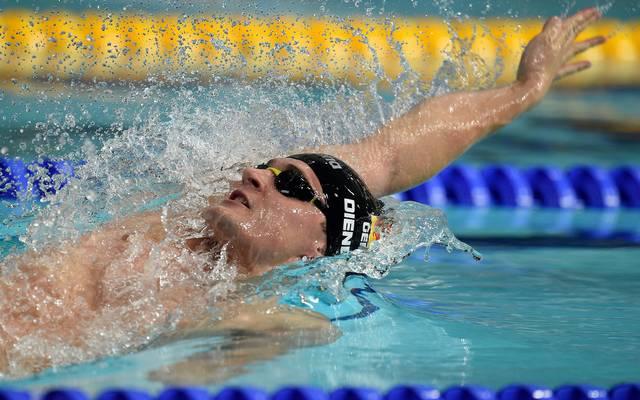 Christian Diener gewann mit der Lagenstaffel Bronze