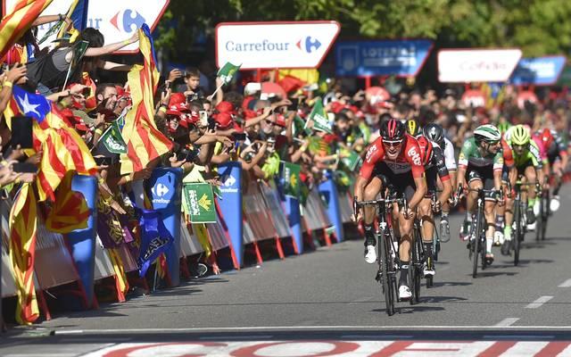 Vuelta 2018: Jelle Wallays gewinnt 18. Etappe - Geschke muss aufgeben