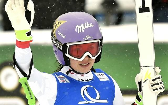 Anna Veith gewann 2014 Olympia-Gold im Super-G