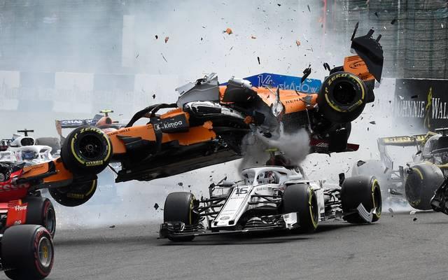 Formel 1: Weitere Details zu Unfall von Charles Leclerc in Spa