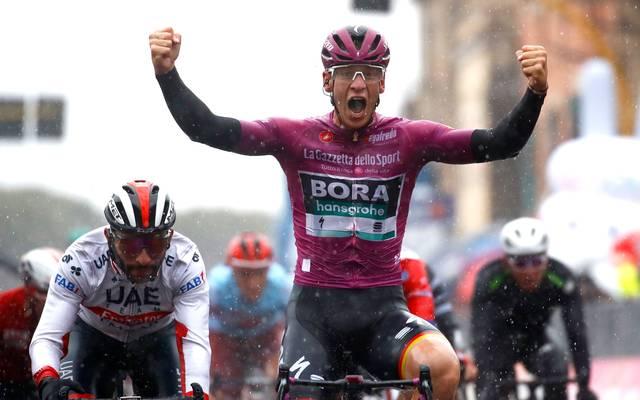 Pascal Ackermann durfte beim Giro erneut jubeln