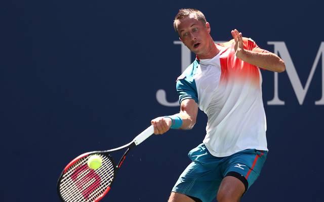 Philipp Kohlschreiber steht beim Masters in Rom in der zweiten Runde