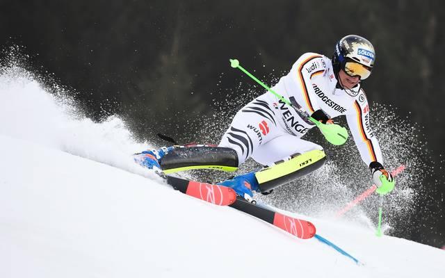 Thomas Dreßen schaffte in der ersten Kombination der Saison einen Top-Ten-Platz