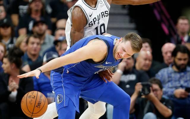 NBA: Dallas Mavericks unterliegen Spurs - Luka Doncic brilliert