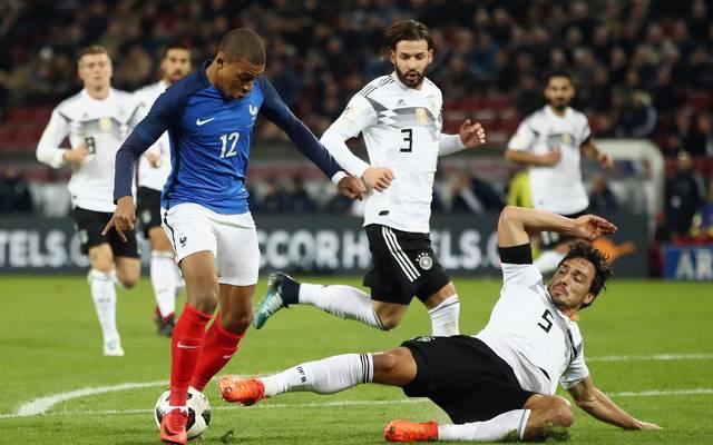 Mitte November trafen Deutschland und Frankreich letztmals aufeinander
