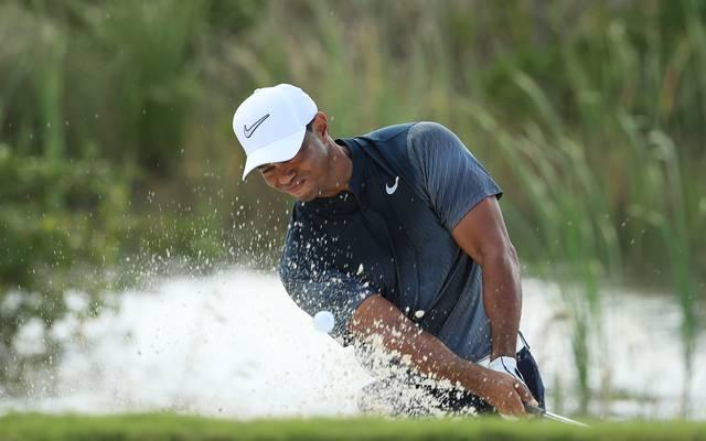 Tiger Woods hatte auf der dritten Runde einige Probleme