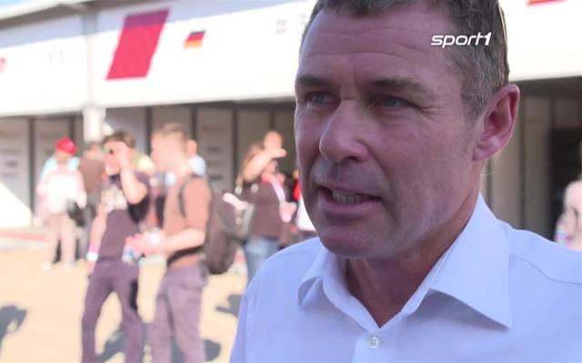 Die DTM-Legenden Frank Biela und Tom Kristensen im Interview nach ihrem Crash am Hockenheimring