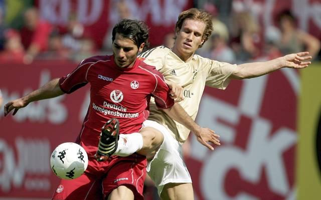 Halil Anltintop (l.) spielte bereits von 2003 bis 2006 beim 1. FC Kaiserslautern