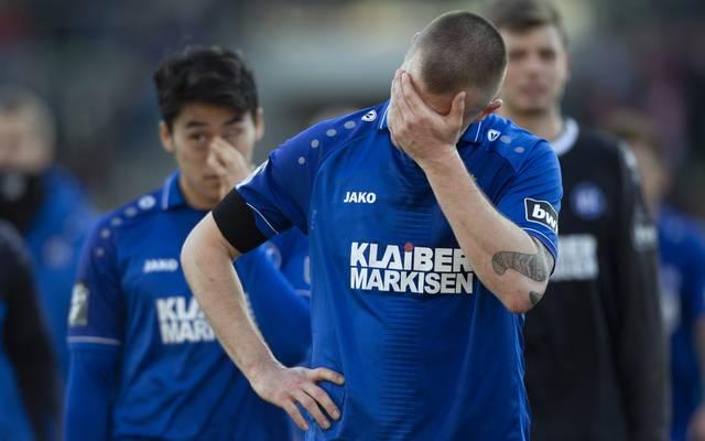 Der Karlsruher SC verlor überraschend gegen Schlusslicht VfR Aalen