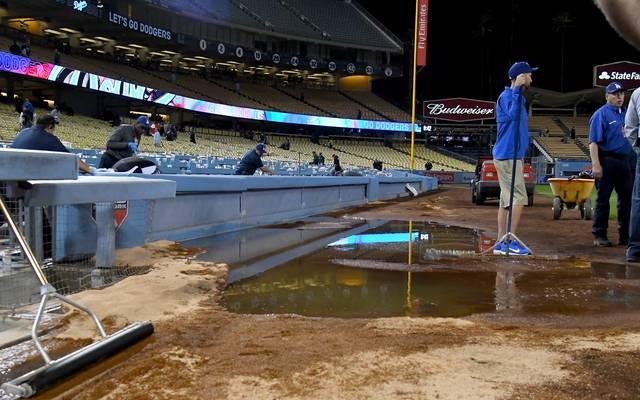 Aufgrund eines Wasserrohrbruchs musste das Vorbereitungsspiel abgesagt werden