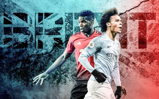 Brexit, Paul Pogba, Leroy Sane, Premier League, Fußball
