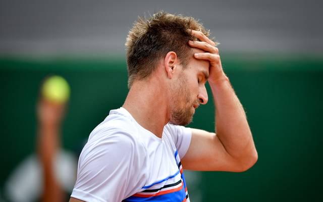 Peter Gojowczyk scheiterte in der ersten Runde