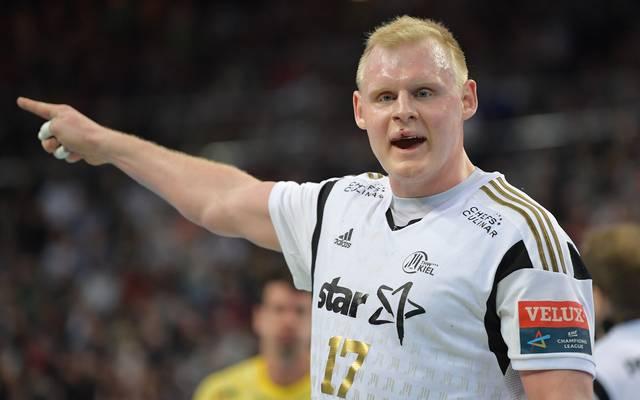 Patrick Wiencek steht seit 2012 beim THW Kiel unter Vertrag