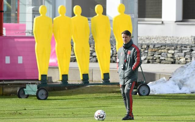 Bayern-Coach Niko Kovac musste beim Training auf gleich fünf Spieler verzichten