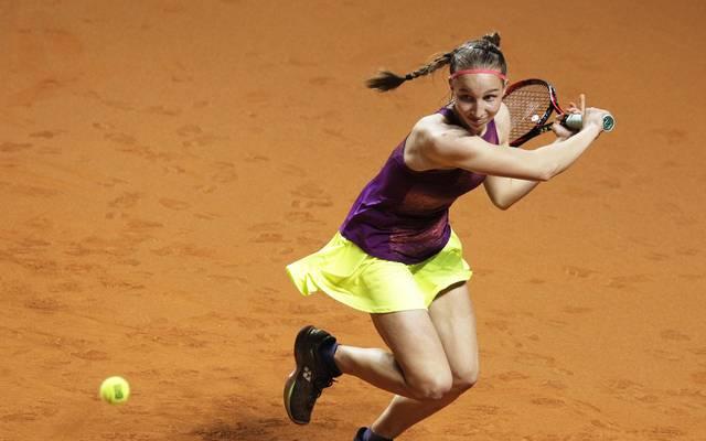 Tamara Korpatsch ist beim WTA-Turnier in Prag im Viertelfinale ausgeschieden