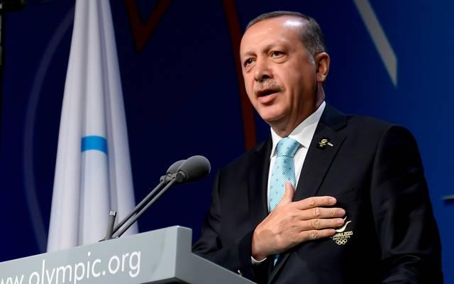 EM 2024: Türkei erhält Zuschlag - Deutschland geht leer aus, Staatspräsident Recep Tayyip Erdogan freut sich auf die EM 2024
