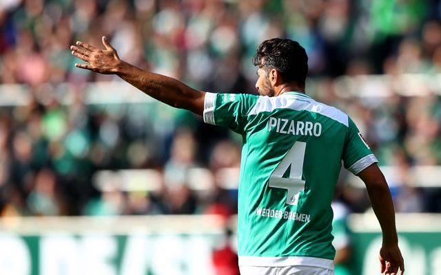 Bundesliga: Werder Bremen schlägt SV Meppen - Pizarro mit Doppelpack